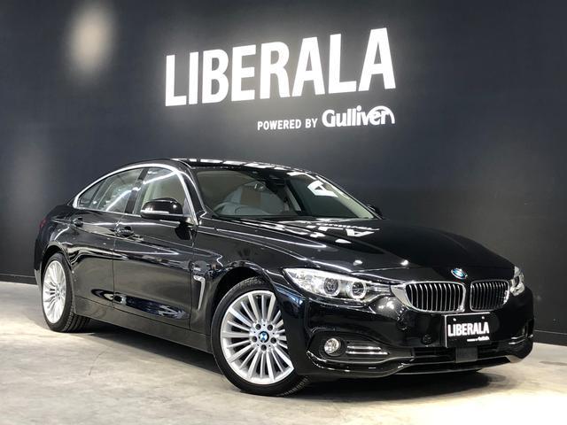 BMW 420iグランクーペ ラグジュアリーACC 白革 Cアクセス