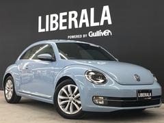 VW ザ・ビートルデザインレザーPKG 黒革 SDナビ シートH クルコン