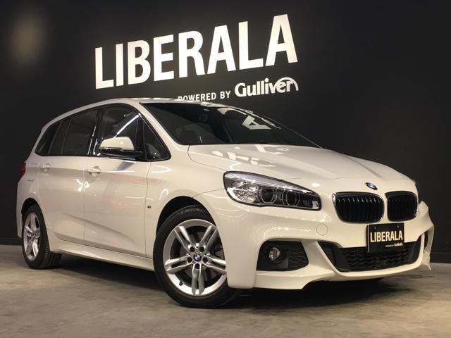BMW 218dグランツアラー Mスポーツ 純正ナビ/衝突回避・軽減ブレーキ/レーンディパーチャーウォーニング/前車接近警告機能/コンフォートアクセス/パワーバックドア/ヘッドアップディスプレイ/ACC/LEDヘッドライト
