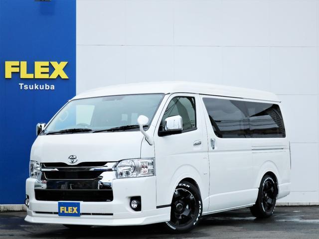 トヨタ GL 17AW ローダウン SDナビ フルセグTV ETC シートカバー フリップダウンモニター LEDテール