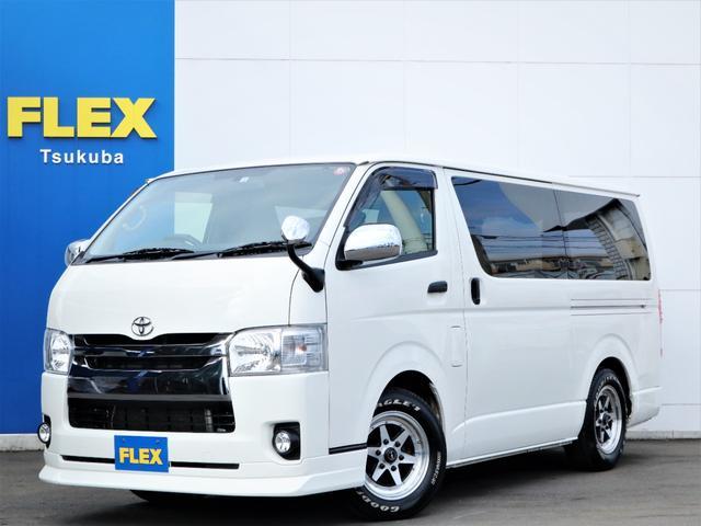トヨタ DX GLパッケージ XR6-16インチアルミホイール ナスカータイヤ ローダウン エアロ イクリプスSDナビ フルセグTV ETC Bカメラ