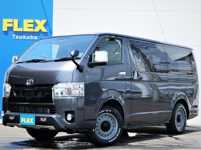 トヨタ スーパーGL ダークプライムII コロラド16AW オープンカントリータイヤ TRDエアロ FLEXオリジナルLEDテールランプ カロッツェリアSDナビ フルセグTV ビルトインETC Bカメラ
