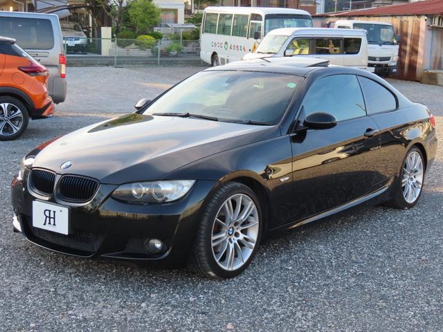 BMW 320i Mスポーツパッケージ ストラーダナビ DVD CD Bカメラ サンルーフ スマートキー2本 ステアリングスイッチ HIDヘッドライト F席パワーシート ETC 純正18インチアルミホイール 取扱説明書 新車保証書 記録簿