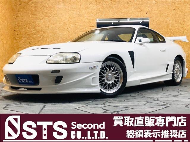 トヨタ スープラ RZ BLITZ車高調 エアクリ HKSメータ 外マフラー