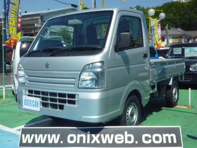 スズキ KCエアコン・パワステ 届出済未使用車 最新モデル 5MT