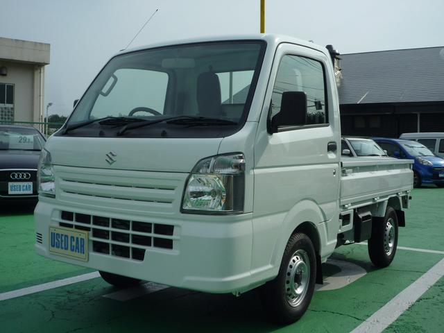 スズキ キャリイトラック KCエアコン・パワステ 届出済未使用車 最新モデル 5MT Wエアバック ABS