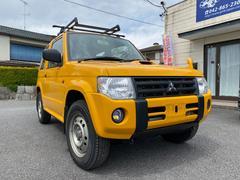 パジェロミニZR 4WD 5MT タイミングベルト交換歴あり ターボ キャリア付き キーレスエントリ スペアキーあり スタッドレスタイヤ4本付き サマータイヤ装着