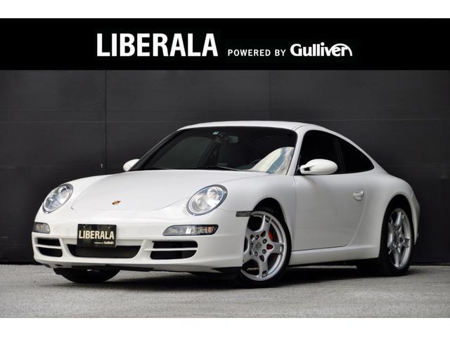 ポルシェ 911カレラS スポーツクロノ サンルーフ 黒革 PWシート