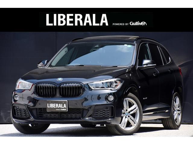 BMW X1 sDrive 18i Mスポーツ HDDナビ バックカメラ パノラマルーフ アルカンターラシート FRコーナーセンサー MTモード付きAT アイドリングストップ ETC LEDライト 電動格納ミラー 電動リアゲート