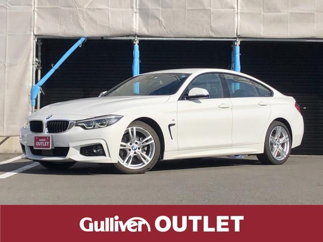BMW 4シリーズ 420iグランクーペ Mスポーツ ACC ワンオーナー アルカンターラ インテリジェントセーフティー パドルシフト シートヒーター 電動バックドア コーナーセンサー 純正ナビ フルセグTV Bカメラ 純正フロアマット ミラー型ETC