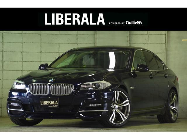 BMW 5シリーズ アクティブハイブリッド5 社外エアロWALD 白革シート クルーズコントロール 20インチAW サンルーフ 電動バックドア 純正HDDナビ フルセグ Bカメラ パドルシフト 前席パワーシート シートヒーター  ミラー型ETC