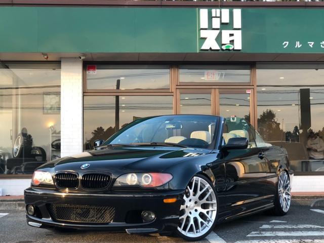 BMW 3シリーズ 330Ciカブリオーレ Mスポーツパッケージ FORGIATO20AW 社外車高調 USサイドマーカー