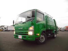 エルフトラック3.35t 新明和製 巻込み式 6.4立米