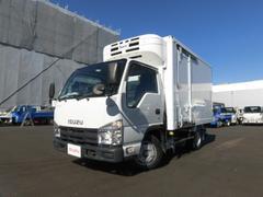 エルフトラック2t 10尺 スムーサー フルフラットロー 冷蔵冷凍車