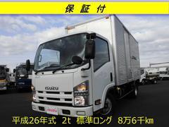 エルフトラック2t スムーサー 標準ロング ドライバン 保証付