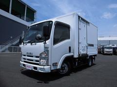 エルフトラック1.95t ショート 5MT フルフラットロー 冷蔵冷凍車
