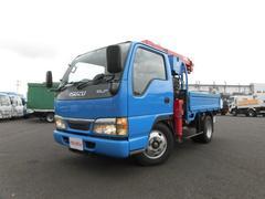 エルフトラック2t ショート クレーン付 5MT