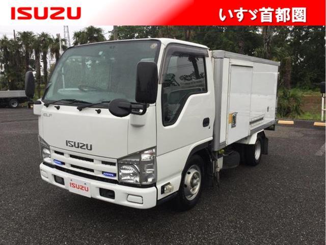 いすゞ フラットロー・冷蔵冷凍車・1.5t・日本フルハーフ
