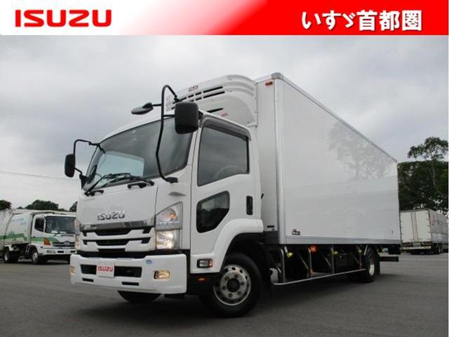 いすゞ フォワード 冷蔵冷凍車・3000kg・三菱・ラッシング3段・床ステンレス