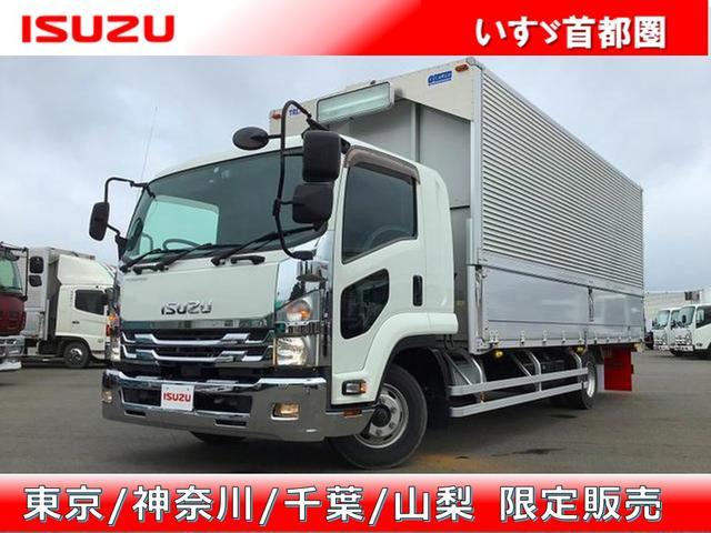 いすゞ ウイング 6MT・日本トレクス製・積載2.900kg・ラッシング2段・引出フック5対・センタービーム・エアサス・バックカメラ・キーレス・ベット付・距離120.000km・取説・保証書