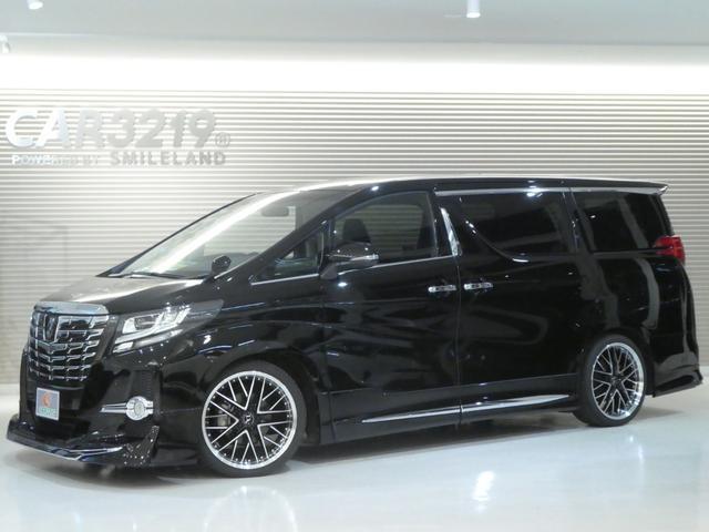 トヨタ 2.5S 4WD 7人乗 モデリスタエアロ 20AW 車高調