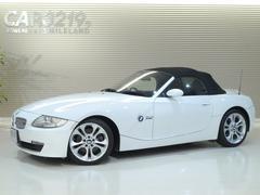 BMW Z4ロードスター3.0siAfeエアクリ・サイバーナビ