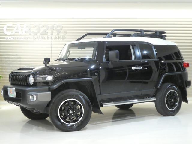 トヨタ ブラックカラーパッケージ リフトアップ JAOSマフラー