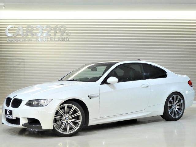 BMW M3クーペ黒革Mドライブカーボンルーフ記録簿