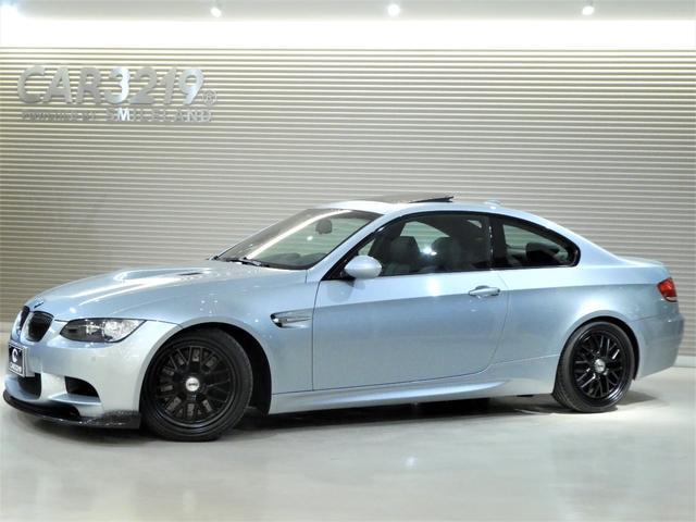 BMW M3クーペ黒本革HDDTSW19インチAWローダウンFリップ