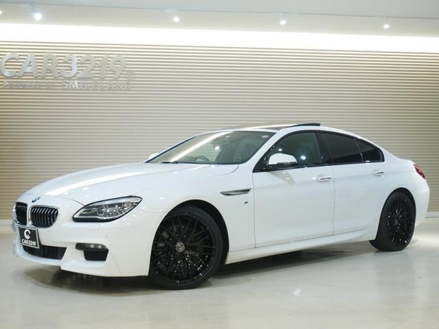 BMW 640iグランクーペ MスポーツACC・20インチAW・SR ACC・エナジー20インチAW・サンルーフ・シートヒーター・純正HDDナビ・レーンキープ・フルセグ・ETC・Pスタート