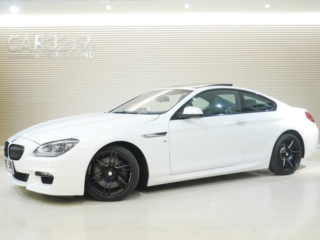 BMW 6シリーズ 640iクーペ Mスポーツパッケージ サンルーフ・パドルシフト・Weds sporf19インチアルミ・ローダウン・純正ナビ・Bカメラ・クルコン