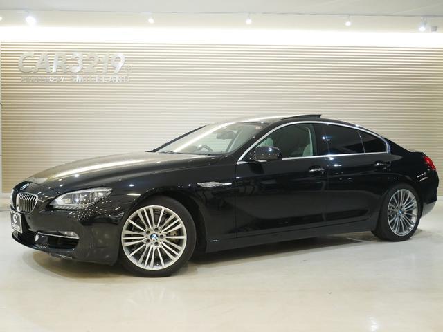 BMW 6シリーズ 640iグランクーペ白革シート・サンルーフ・Pスタート 白革シート・サンルーフ・Pスタート・クルコン・電動サンシェード・HDDナビ・フルセグ・19インチAW