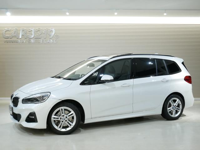 BMW 218d xDriveグランツアラー Mスポーツ ワンオーナー・オプション革シート・オプションパノラマサンルーフ・コンフォートパッケージ・セレクトパッケージ