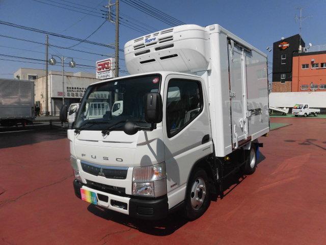 三菱ふそう 全低床 冷蔵冷凍車 東プレ製-30℃ 2t積載 新型モデル