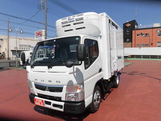 三菱ふそう キャンター  3.0DE-TB 冷蔵冷凍車 東プレ製2t積載