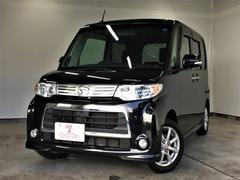 タントカスタムXスペシャル・社外SDナビ・フルセグTV・自動D