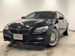 BMW640iグランクーペ・黒革シート・サンルーフ・外21AW