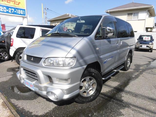 三菱 シャモニー/エアロルーフ/4WD