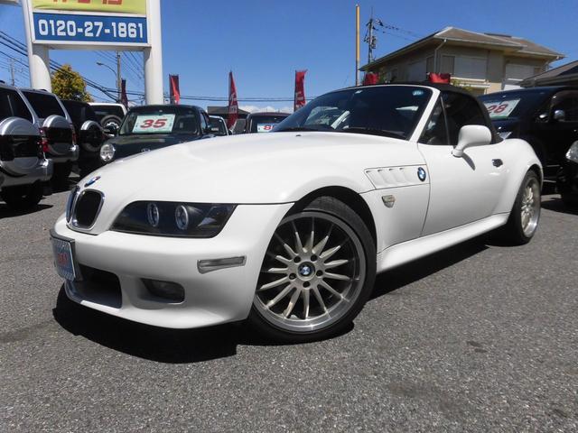 BMW Z3ロードスター 2.2i/社外イカリングヘッドライト/...