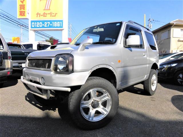 スズキ XC/4WD/ターボ/リフトアップ/背面タイヤ