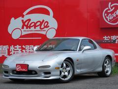 RX−7タイプRS 4型 5速 車高調 マフラー ナビ 追加メーター