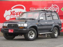 ランドクルーザー80VX 最終型 5速MT 背面レス シートヒーター ETC