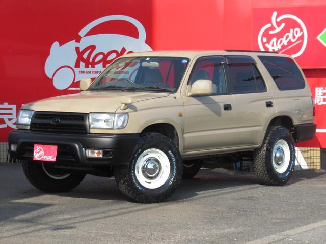トヨタ ハイラックスサーフ SSR-X 5MT ナロー 全塗装 新品AW 新品タイヤ
