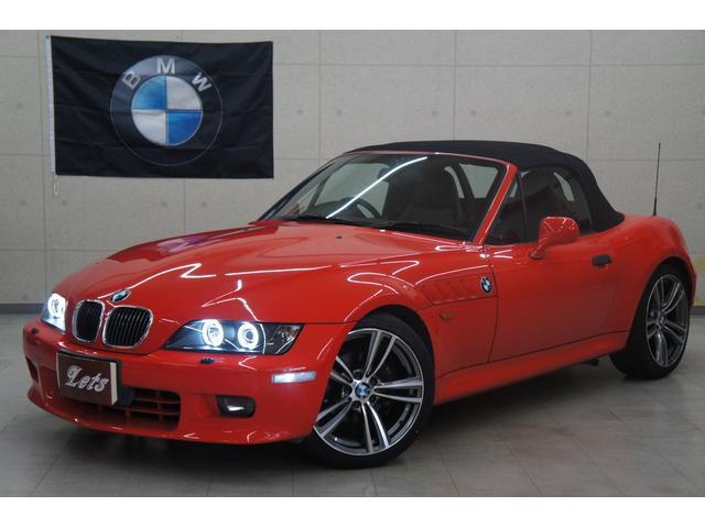 BMW 2.8後期 NEWパーツカスタム車 電動オープン 新品タイヤ