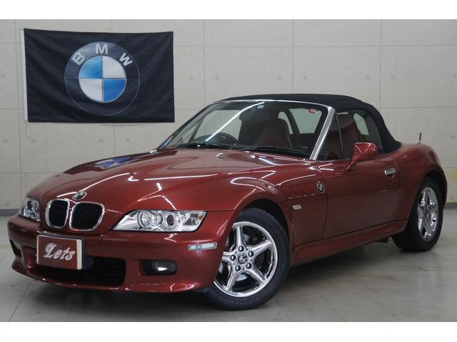 BMW 2.2i赤革 電動オープンChromeカスタム車 イカリング