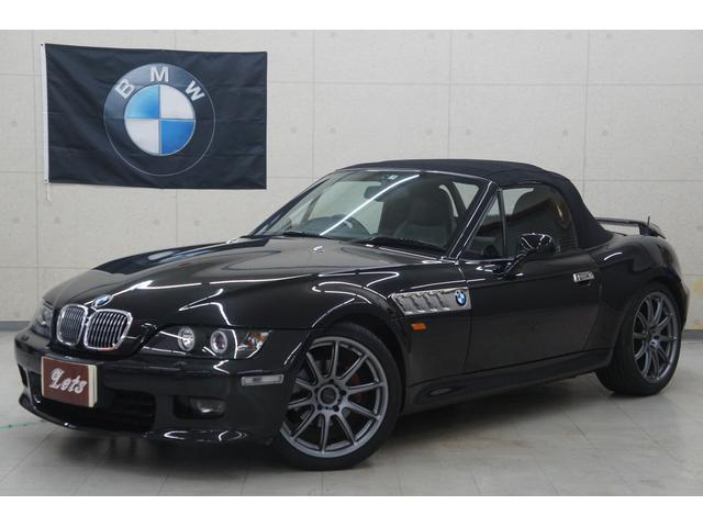 BMW 2.8後期 電動オープン 黒革 BS製18AW