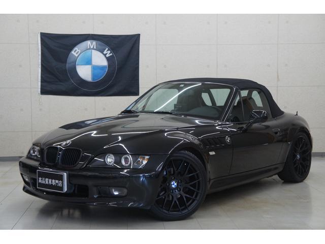 BMW Z3ロードスター ベースグレード 5速MT 18AW イカリング 車高調 REMUSマフラー ドラレコ