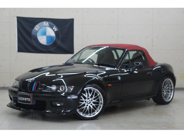 BMW 2.2i 後期 弊社カスタム車 新品18AWタイヤ 新品赤幌張替 新品Fスポ 新品ヘッドライトLED加工 Rスポイラー