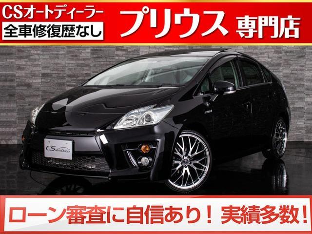トヨタ S サンルーフ/新品G'sフェイス装着/新品19インチアルミ&タイヤ/スマートキー&プッシュスタート/