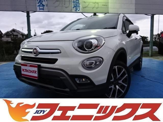 フィアット 500X クロス プラス専用Bカメラ本革シートヒータ...